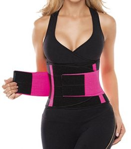 Camellias Women's Waist Trainer Belt – Body Shaper Belt for an Hourglass Shaper