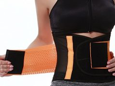 FeelinGirl Women's Adjustable Waist Trimmer Belt Body Shaper Back Brace
